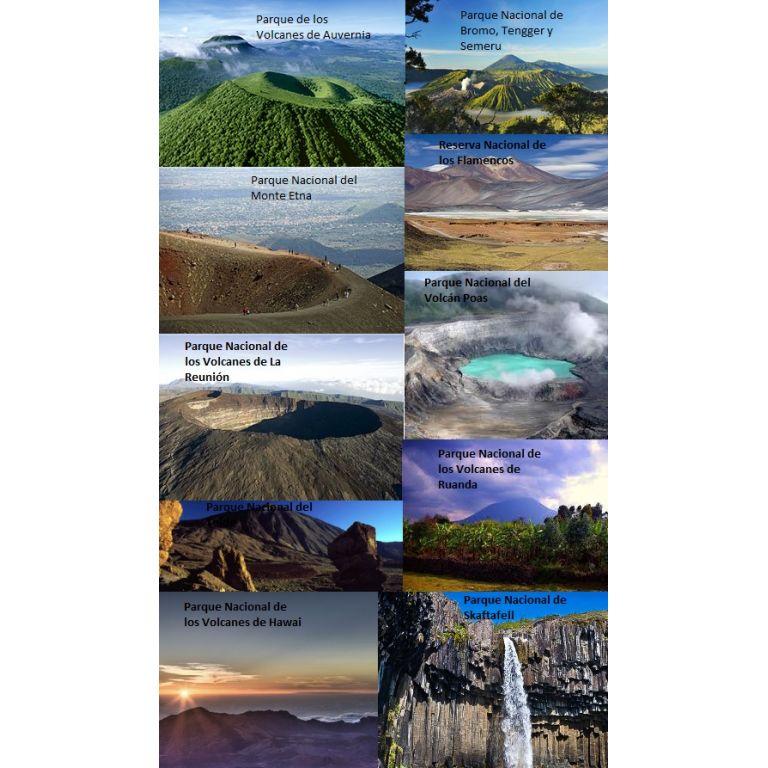10 volcanes y sus parques nacionales