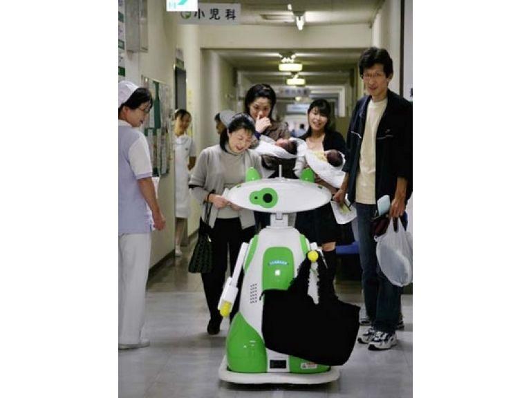 Hospital en Escocia comienza a usar robots