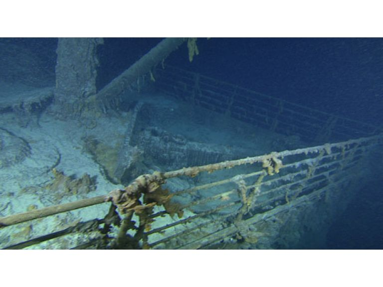 Expedición ofrece nuevas imágenes del Titanic