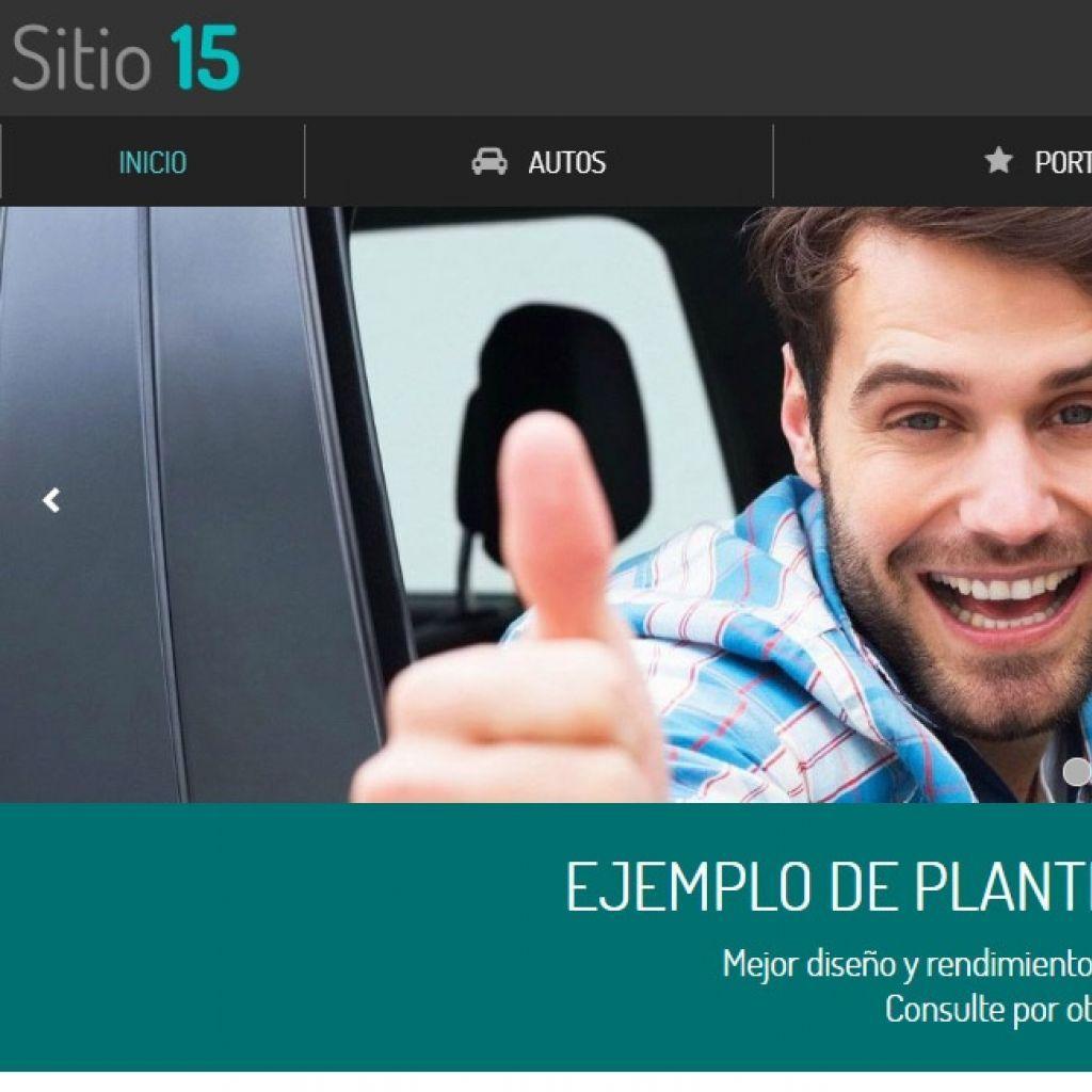 Automotora ejemplo página web 15.