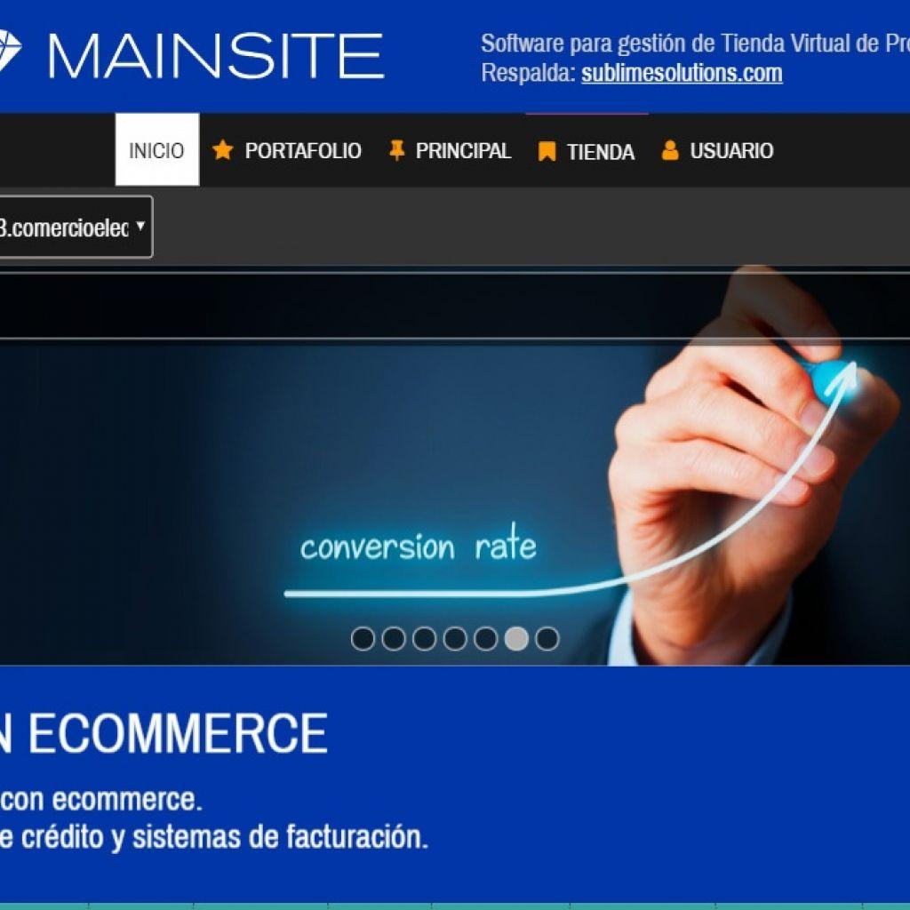 Tienda virtual online demo 13.