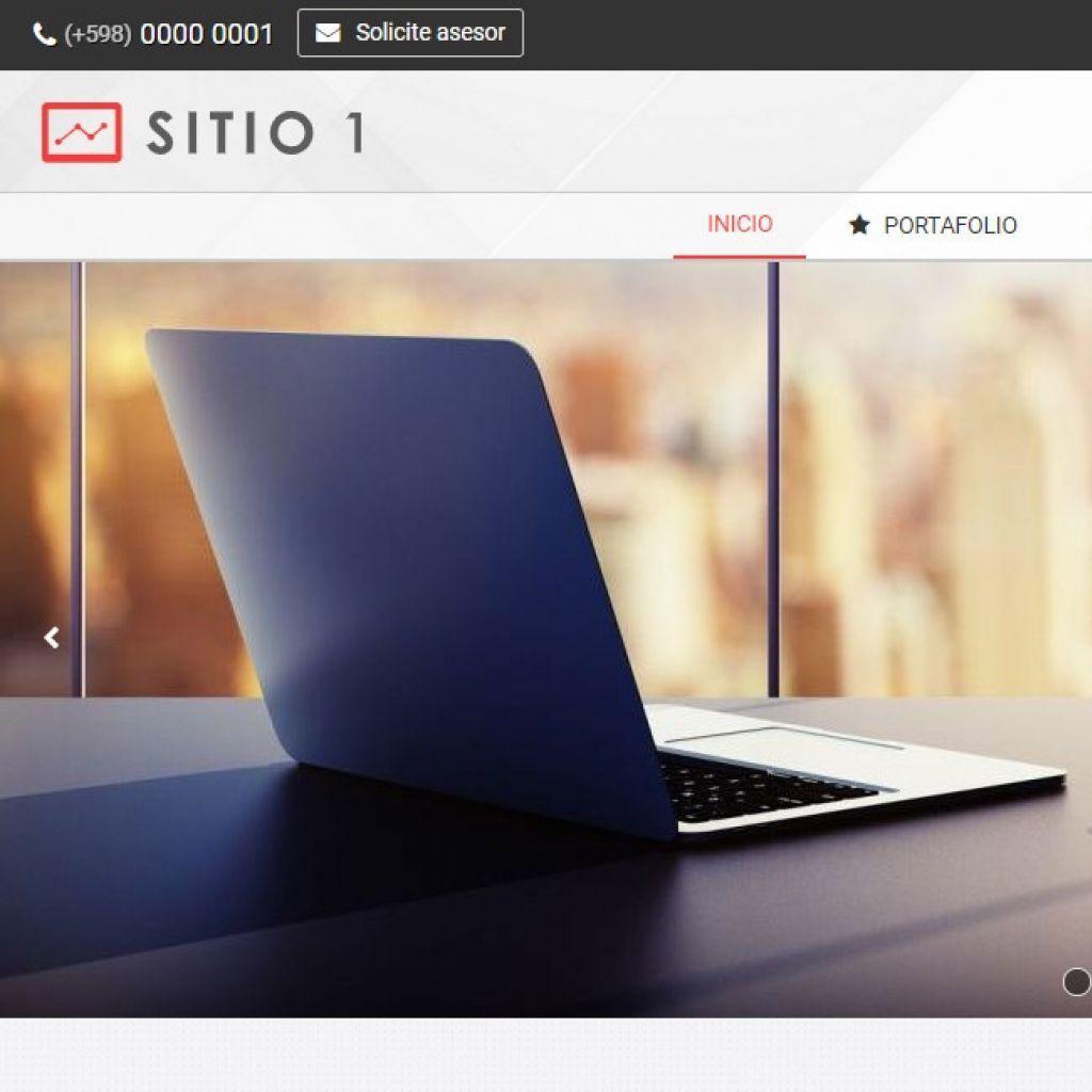 Diseño sitio web sitio institucional.