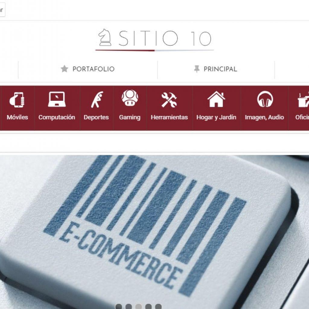 Sitio web para crear su nueva tienda virtual online de productos.